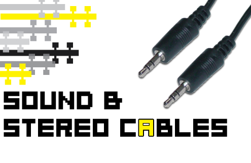 Stereo Cables at Discount Prices