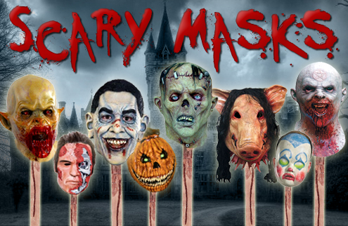 Scary Masks for Halloween