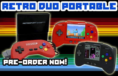 The New Retro Duo Portable 2.0 On Sale