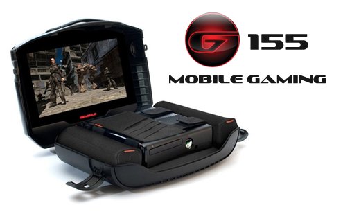 Video Game Suitcase The Gaems G155 Sentry Mobile Game Monitor