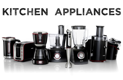 Kitchen Appliances are here