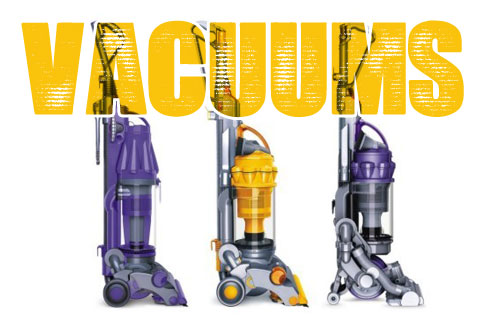 Vacuum's at the lowest price!