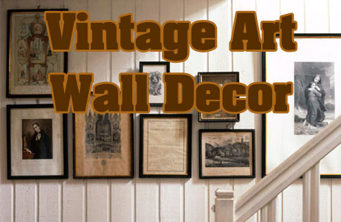Vintage Wall Decor