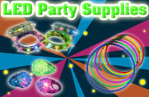 Glow in The Dark & Light Up Party Supplies & Favors