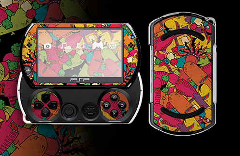 Skin your PSP
