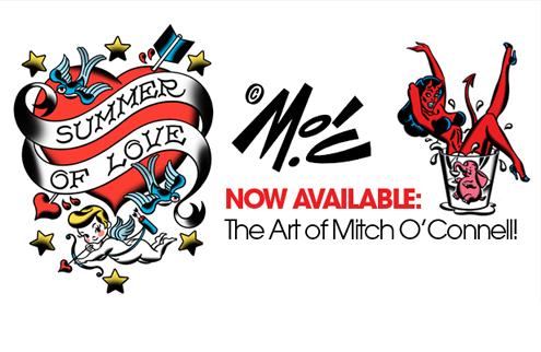 Mitch O'Connell Artwork now available for Skinning!