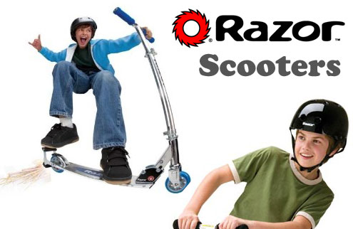 Razor Scooters are here!