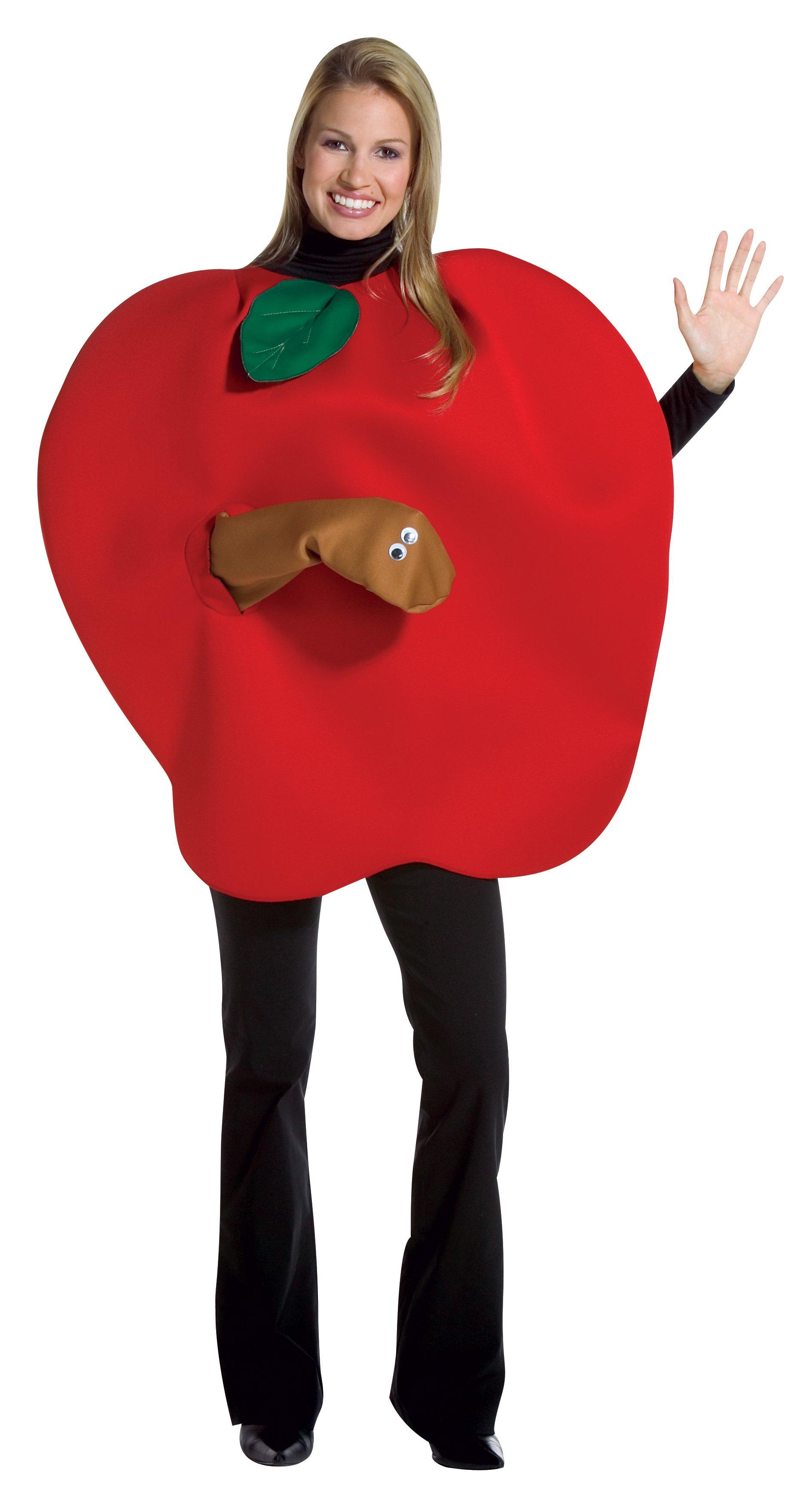 Как сделать костюм яблоко