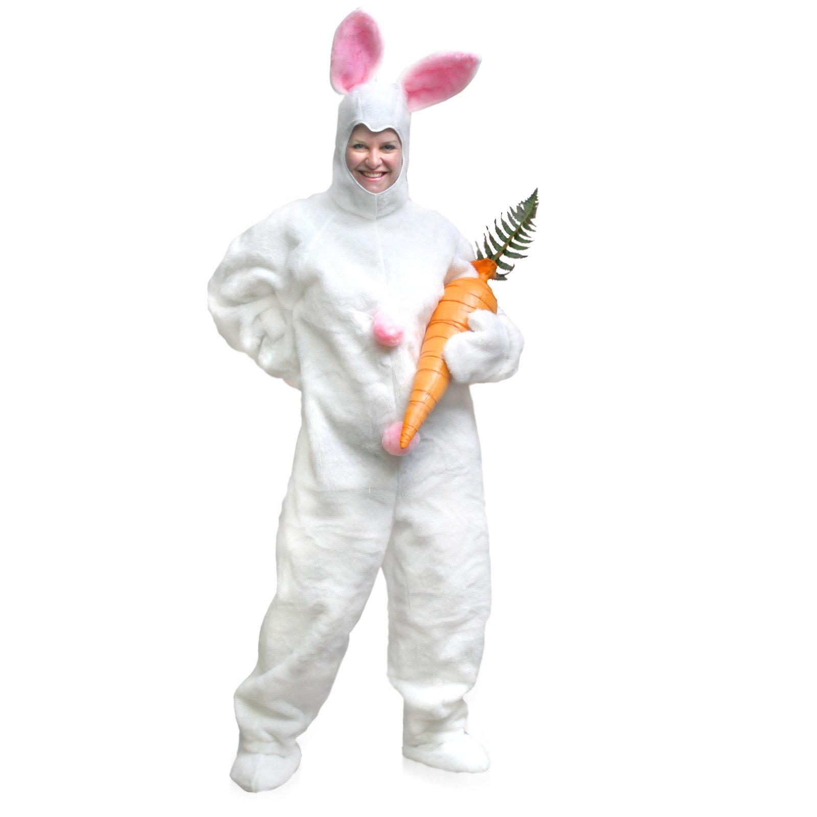 Костюм зайца взрослый своими руками фото