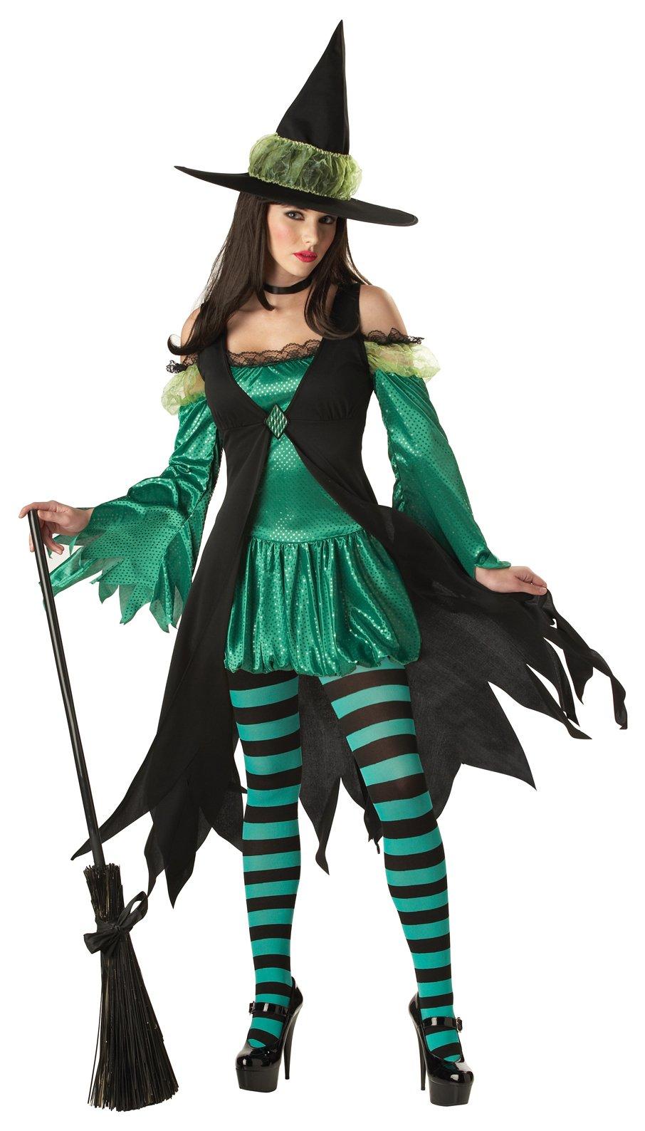 Костюм ведьма на хэллоуин своими руками