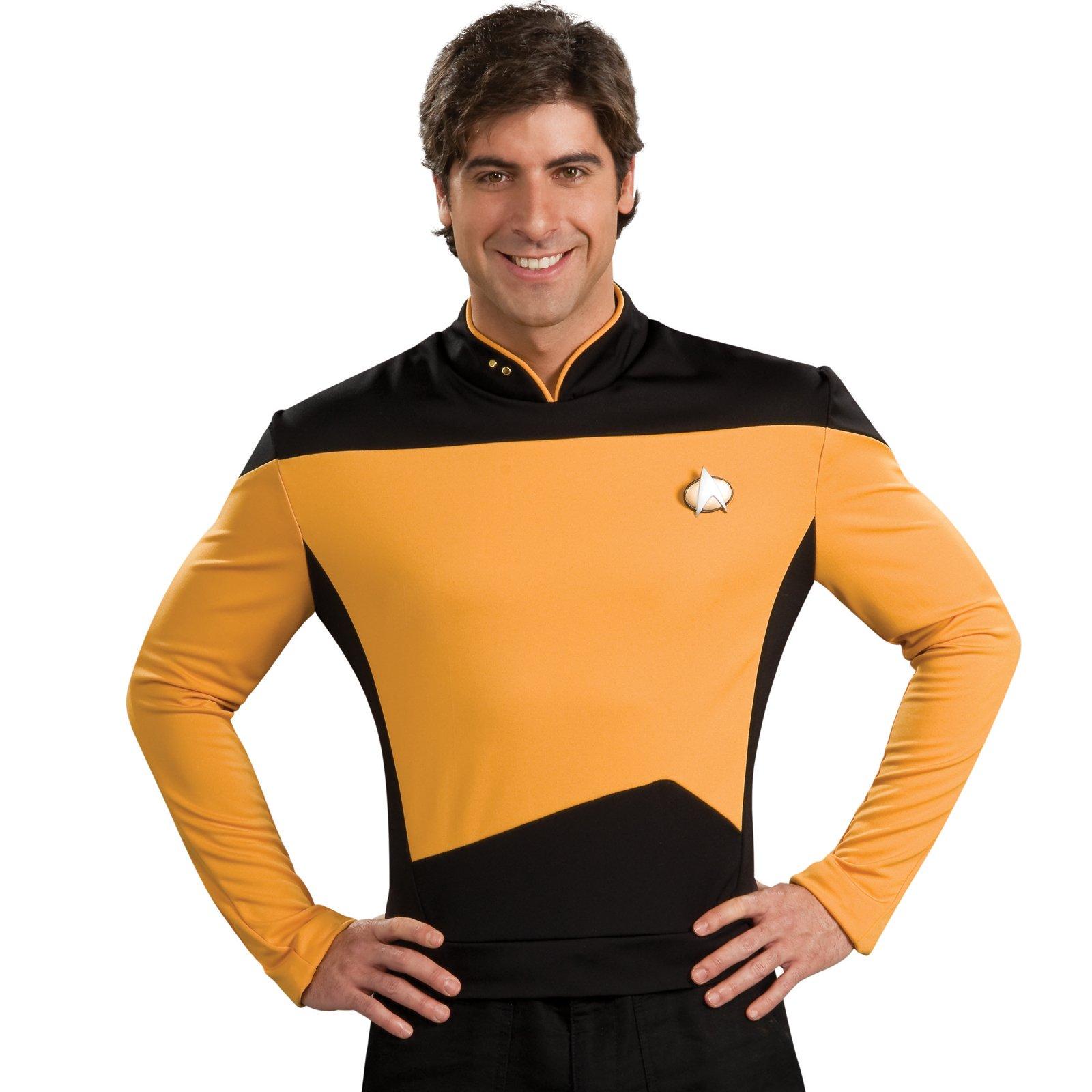 Star trek gold shirt kids costume