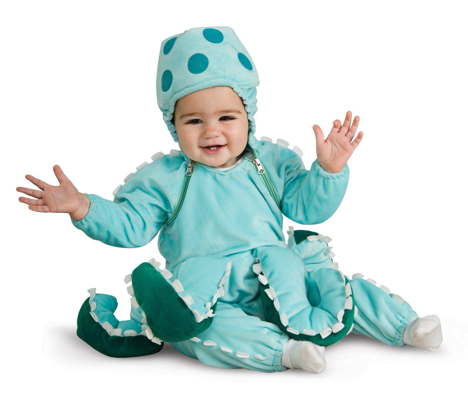 Сшить костюм осьминога своими руками