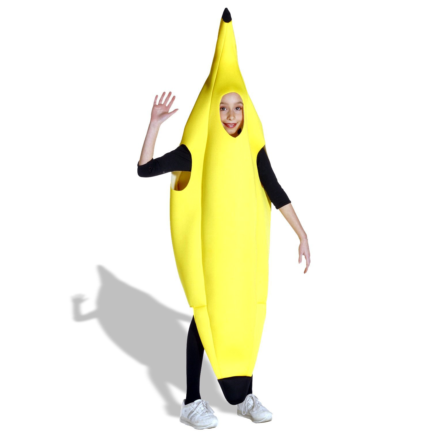 Get Answers to Questions on the Banana Deluxe Child Costume - Polyfoam - One-Size (7-10)