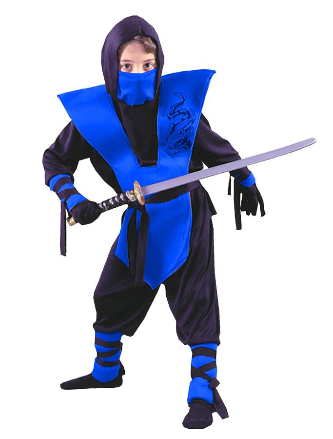 Новогодний костюм для ниндзя своими руками