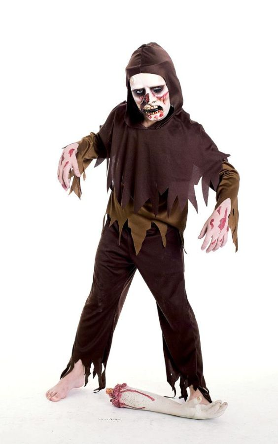 Костюм зомби для мальчика своими руками