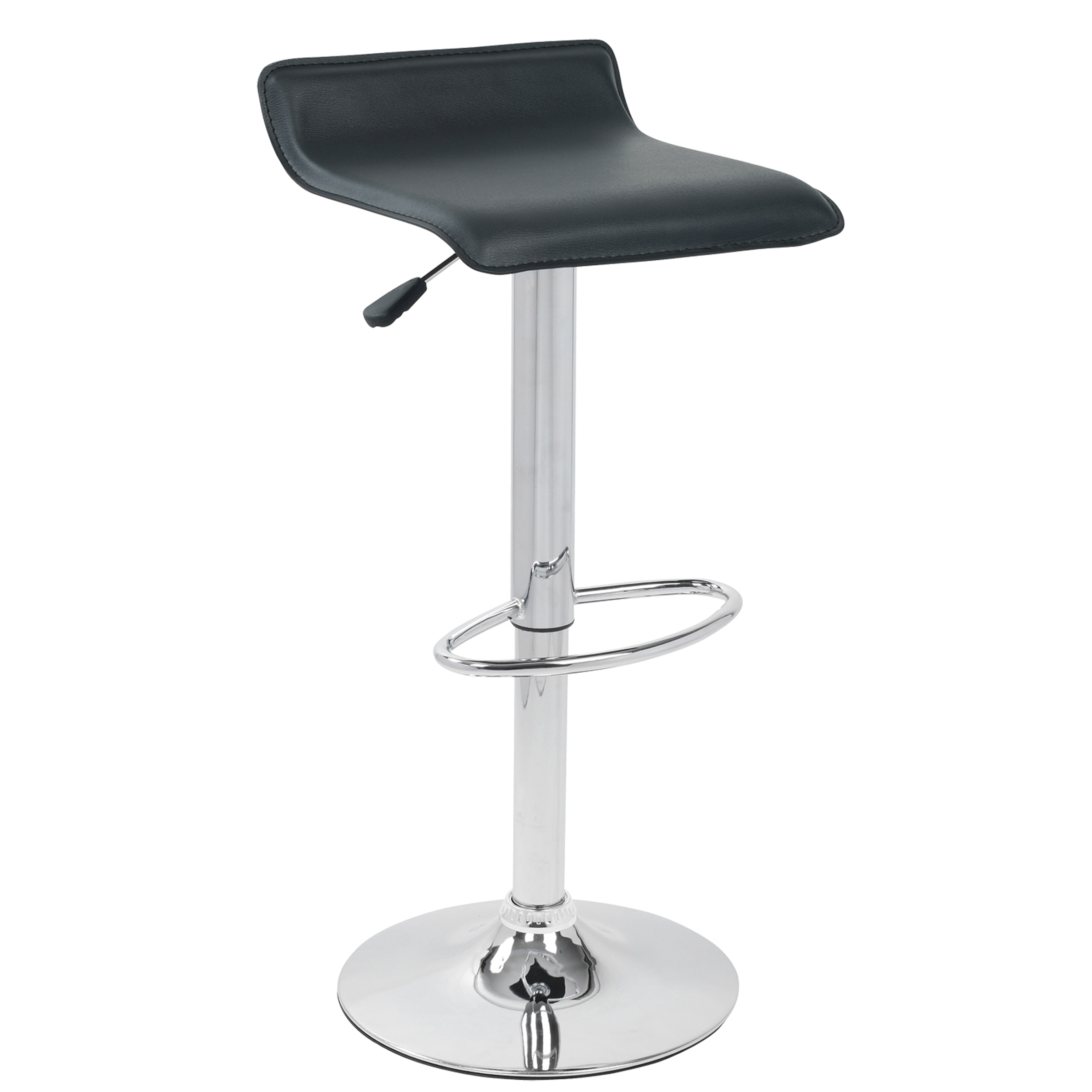 carina modern counter stool in white