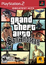Playstation 2 Grand Theft Auto: San Andreas Greatest Hits PS2