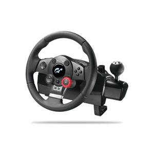 PS2/PS3 Logitech Driving Force Pro Steering Wheel w/Pedals