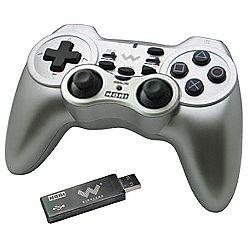 Hori Wireless Silver Turbo Controller - PS3