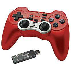 PS3 Hori 3 Wireless Red Turbo Controller - Playstation 3 Wireless