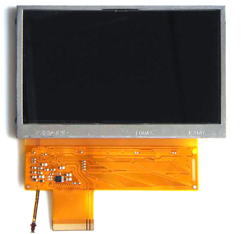 PSP Replacement LCD Screen - Repair Part for Cracked LCD TV Screen