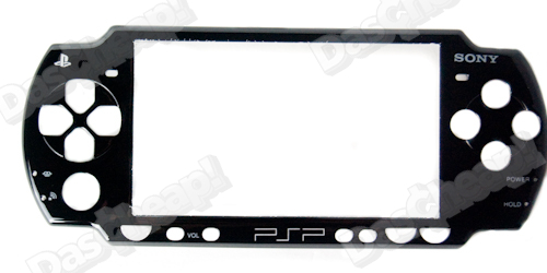 PSP 2000 Slim Outter Shell Replacement kit Black