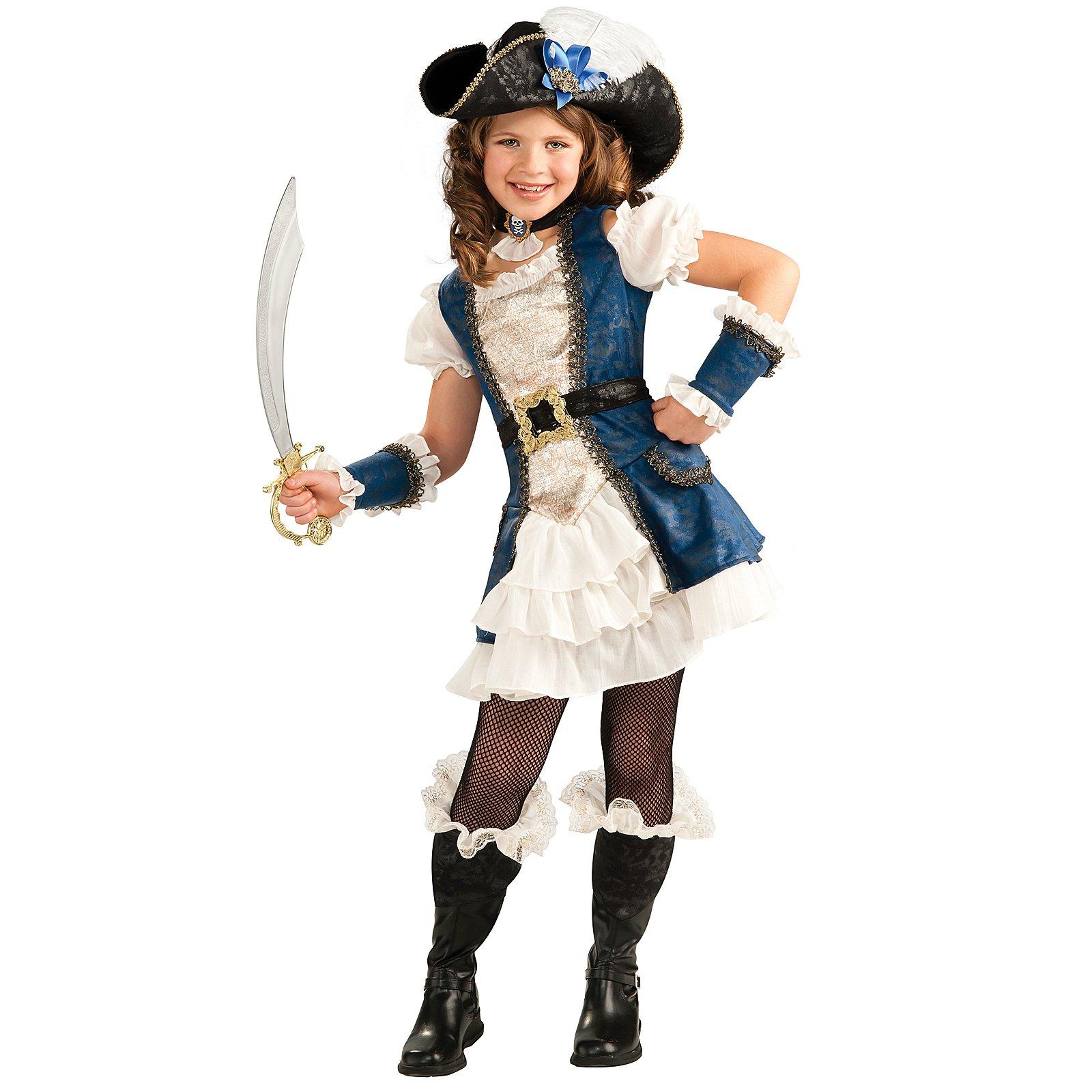 Костюм для девочки пиратка своими руками фото