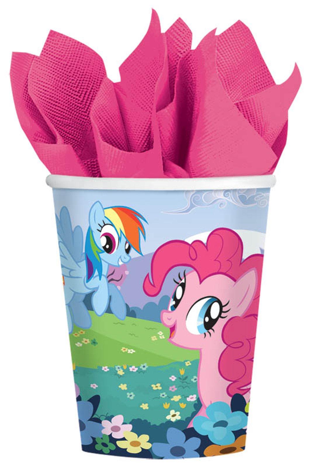 Buy Cheap My Little Pony Friendship Magic 9 Oz. Paper Cups (8)