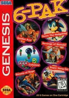 Sega Genesis 6-PAK Pre Played