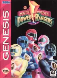 Mighty Morphin Power Rangers for Sega Genesis Pre-Played
