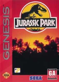 Jurassic Park for Sega Genesis Pre-Played Original Packaging