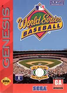 Sega Genesis World Series Baseball Pre-Played - GEN