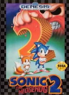 Sega Genesis Sonic The Hedgehog 2 Pre-Played - Original Packaging
