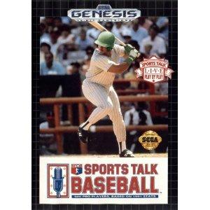 Sega Genesis Sports Talk Baseball Pre-Played - Original Packaging