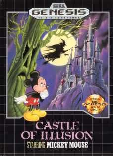 Sega Genesis Castle Of Illusions Starring Mickey Mouse Pre-Played