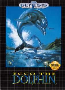 Sega Genesis Ecco the Dolphin Pre-Played - Original Packaging