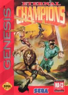 Sega Genesis Eternal Champions Pre-Played - GEN