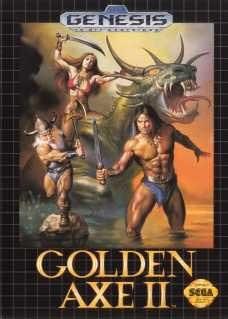 Sega Genesis Golden Axe 2 Pre-Played - GEN