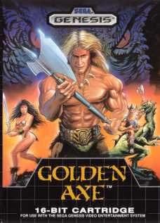 Sega Genesis Golden Axe Pre-Played - GEN
