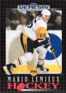 Sega Genesis Mario Lemieux Hockey Pre-Played - GEN