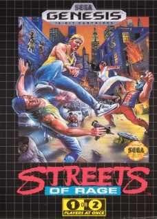 Sega Genesis Streets of Rage Pre-Played - GEN