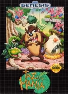 Sega Genesis Taz-Mania Pre-Played - Original Packaging