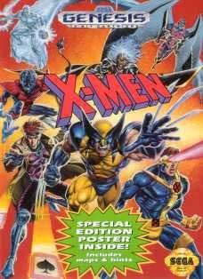 Sega Genesis X-Men Pre-Played - GEN