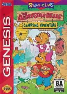 Sega Genesis The Berenstain Bears Camping Adventure Pre-Played - GEN
