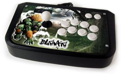 Blanka Urban Jungle Custom Arcade Stick Skin for Hori Sticks