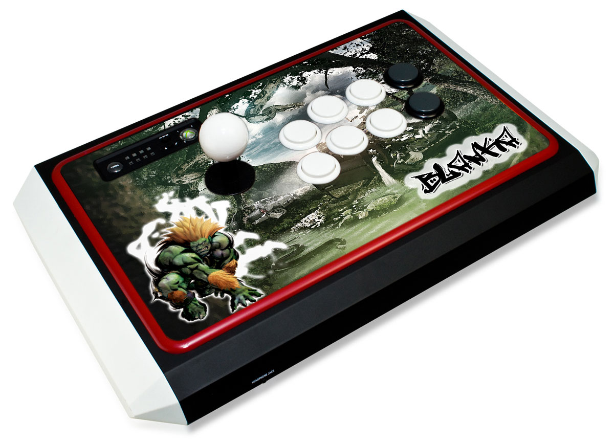 Madcatz TE Stick Blanka Urban Jungle Arcade Stick Skin
