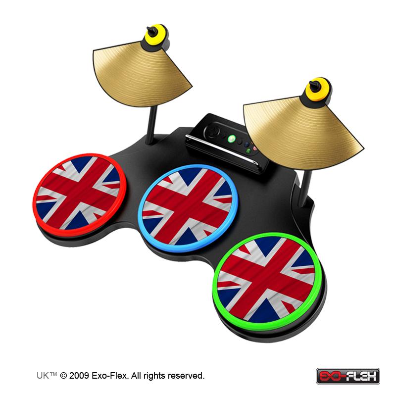 UK Guitar Hero World Tour Drum Skin