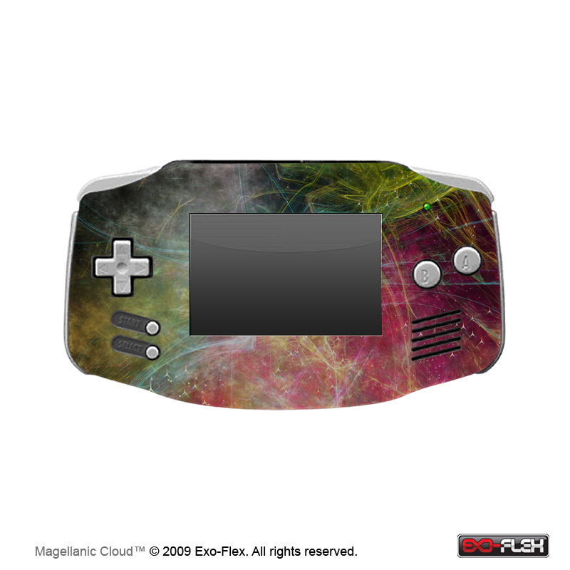 Magellanic Cloud Gameboy Advance Skin