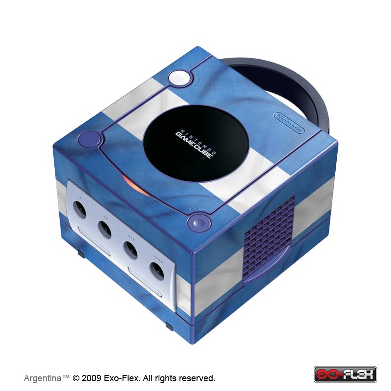 Argentina GameCube Console Skin