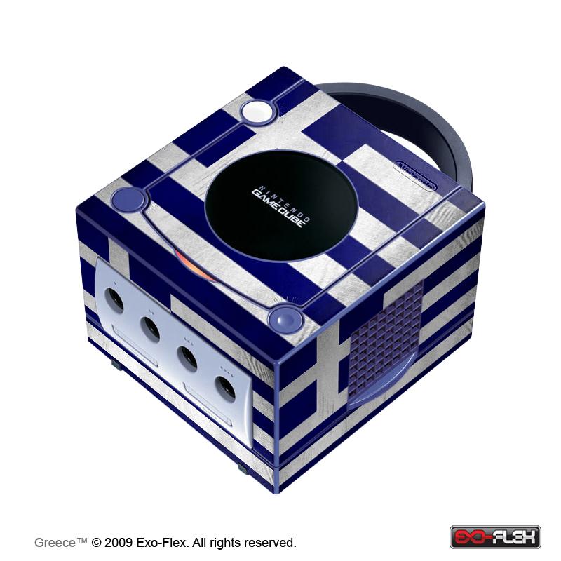 Greece GameCube Console Skin